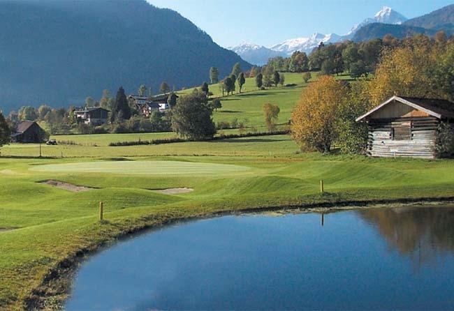 4 Sterne Sport Und Wellnesshotel Alpina In St Johann Golf Treff At